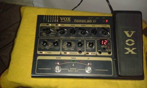 Pedalera Valvular Vox Tonelab St Usada En Perfecto Estado