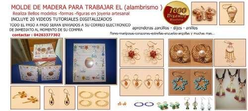 Plantilla Para Hacer Bases Figuras En Joyería Artesanal