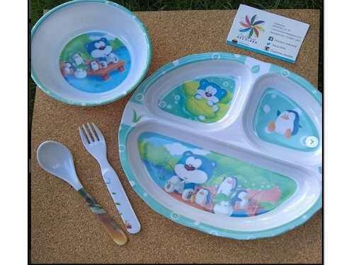 Platos Para Bebe / Set De Platos Para Niños