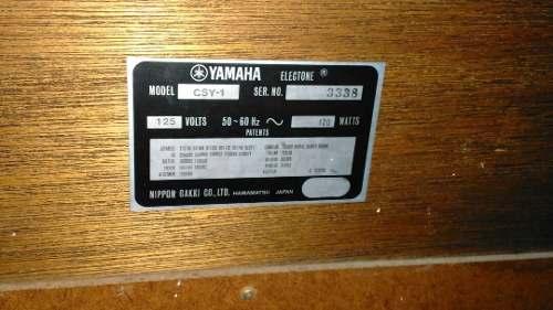 Por Motivo De Viaje Vendo Órgano Yamaha Como Nuevo