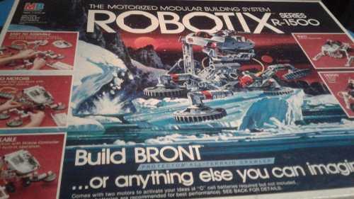 Robotix Series R- Sistema De Construcción Motorizado
