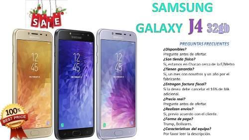 Samsung Galaxy J4 16 Gb Somos Tienda Física