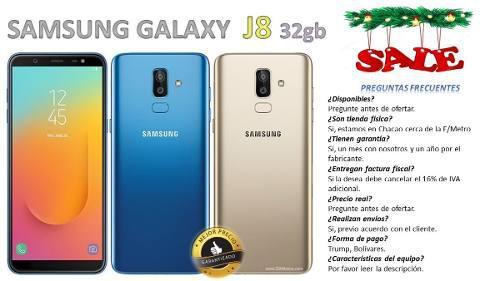 Samsung Galaxy J8 32 Gb Somos Tienda Física