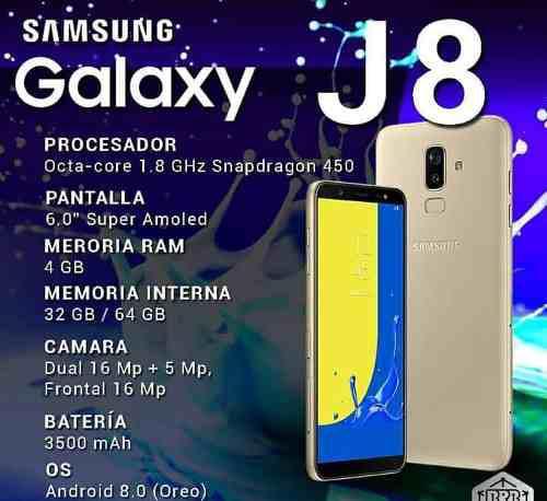 Samsung Galaxy J8 32 Y 64 Gb