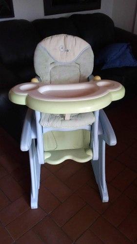 Silla De Comer Para Bebé 2 En 1. Silla De Comer Y