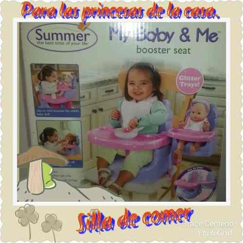 Silla Para Comer De Niña Summer My Baby & Me