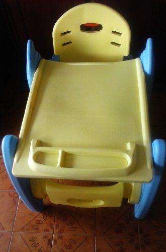 Silla Para Comer Y Escritorio Mesa Para Niño Multiuso 2 En