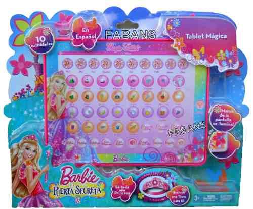 Tablet Barbie. La Puerta Secreta.