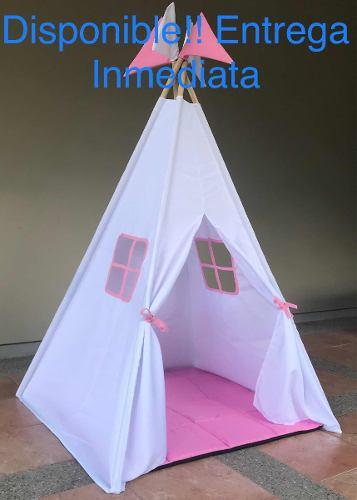 Teepee Carpa Tienda Indio Tipi Decorativo Para Niños Y