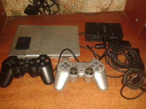 Vendo O Cambio Por Telefono Playstation 2 Slim Con Volante