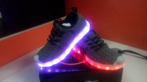 Zapatos De Luces Led Solo Queda Talla 32