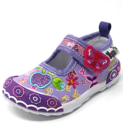 Zapatos Para Niñas Marca Yoyo Mod L Púrpura Tallas