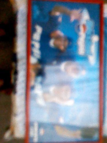Afiche Enmarcado Y Autografiado Por Guillen, Abreu, Y Garcia