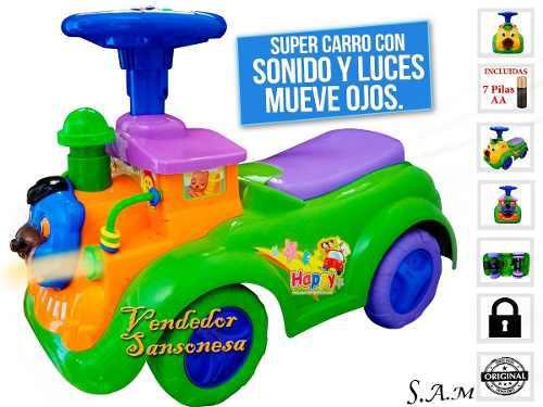 Bello Carro Montable C/ Sonido/movimientos P/niños