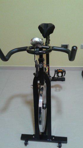 Bicicleta De Spinning K6 Modo Electra Negra