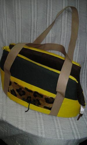 Bolso Paseador O Transportador Para Mascotas (perro-gatos)
