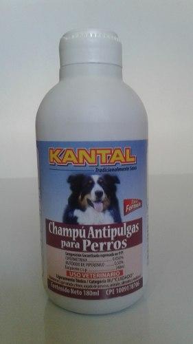 Champú Antipulgas Para Perros Kantal 180ml