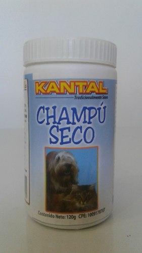 Champú Baño Seco Para Perros & Gatos Kantal 120g