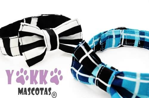Collar Para Perro Con Corbatín A Medida Yokko Mascotas