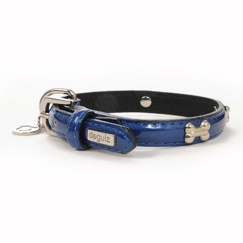 Collar Para Perro Doguiz Montecarlo Talla S Color Azul