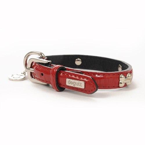 Collar Para Perro Doguiz Montecarlo Talla S Color Rojo