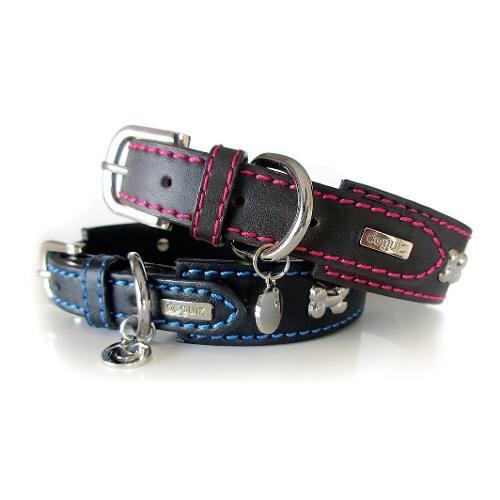Collar Para Perro Doguiz Urbano Talla L Color Negro/azul