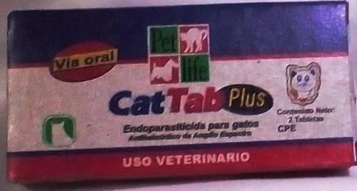 Desparasitante Para Gatos Cat Tab Plus