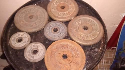 Discos De Pesas Usados