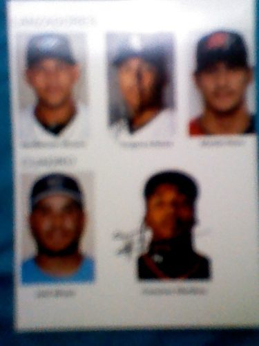 Foto Autografiada De 3 Grandes Alvarez. Infante Y Martinez