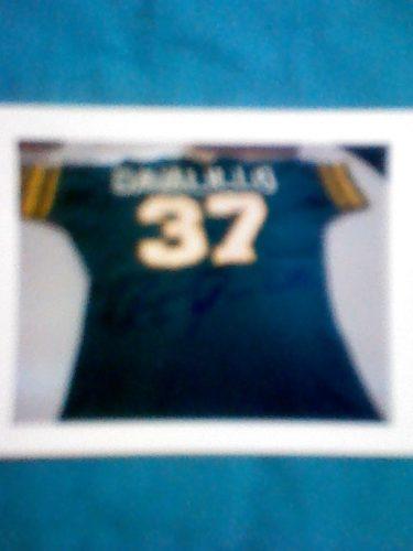 Foto Autografiada De La Camiseta No 37 De Victor Davalillo