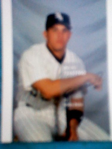 Foto Autografiada De Liu Rodriguez Con Chicago White Sox