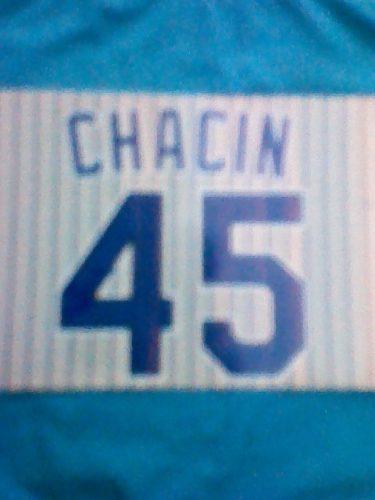 Foto Autografiada Por El No 45 De Jhoulis Chacin