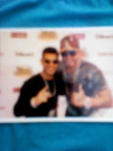 Foto Autografiada Por El Potro Alvarez Y Tito El Bambino