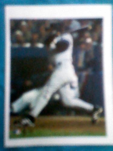 Foto En Hoja Autografiada Por Luis Sojo Con Yankees