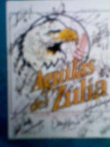 Foto Hoja Aguilas Del Zulia Autografiada Por Todo El Equipo