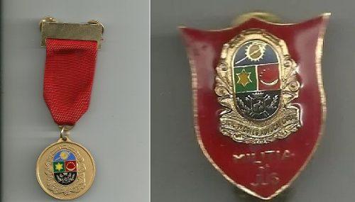 Insignia Y Medalla Colegio De Abogados Caracas Justicia