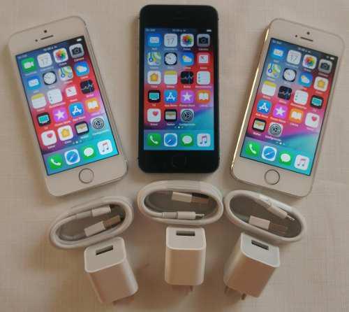 Iphone 5s 16gb (130) 4g + Forro + Vidrio 15 Días Garantía