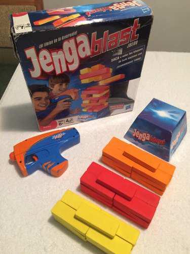 Juego De Mesa Jenga Blast De Hasbro
