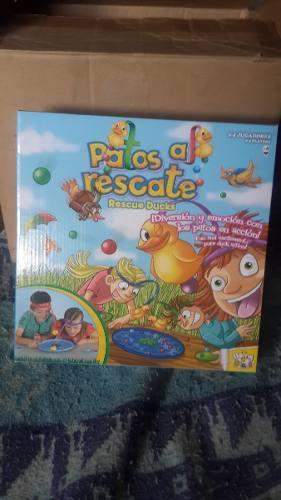 Juego Patos Al Rescate De 2-4 Jugadores Original