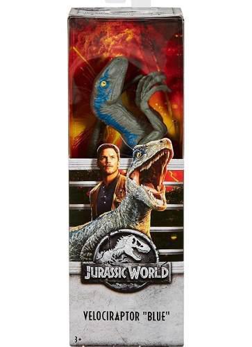 Jurassic World Figura De Acción (velociraptor Blue) Mattel