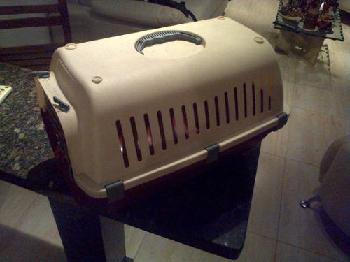 Kennel O Jaula Para Mascotas Perros/gatos (usada) 45x33x33cm