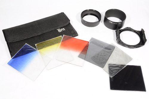 Kit De Filtros Cuadrados Uv Fotografia Nuevo Completo