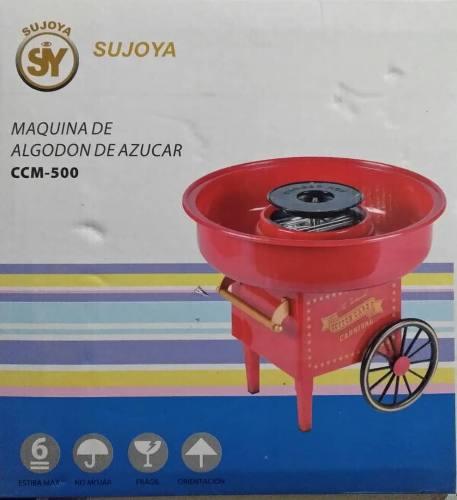 Maquina De Algodon De Azucar Ccm-500 Marca Sujoya Nueva