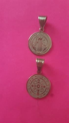 Medallas Y Cruces De San Benito Abad En Acero Inoxidable