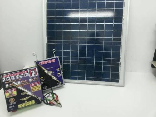 Panel Solar, Cerco Eléctrico, Energizador Cerco Electrico