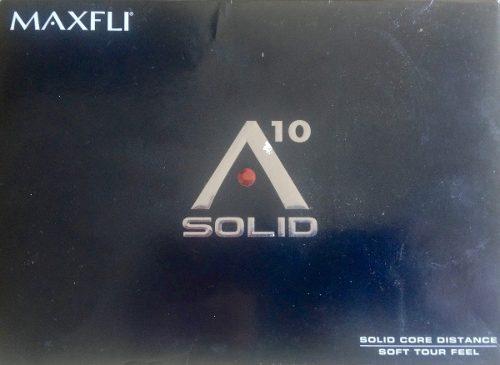 Pelotas Golf A 10 Solid Maxfli Caja 12 Nuevas