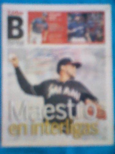 Periodico Autografiado Por Enderson Alvarez