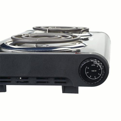 Tope De Cocina Electrica Doble Black&decker Db1002b