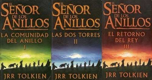 4 Libros Saga El Señor De Los Anillos