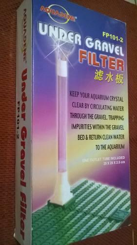 Filtro De Fondo Para Pecera 29 Cm X 29 Cm En Un Kit